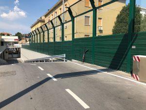 Barriere antirumore esempio ponte