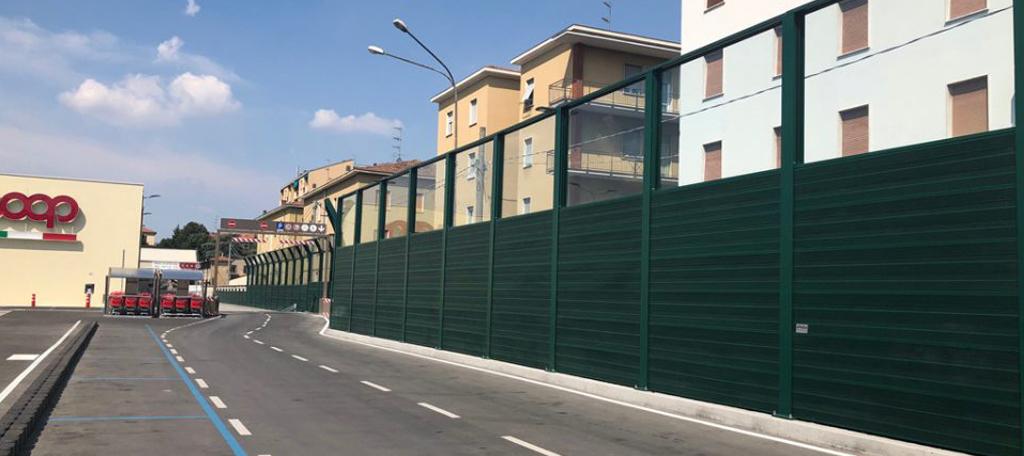 Barriere antirumore in acciaio ed alluminio