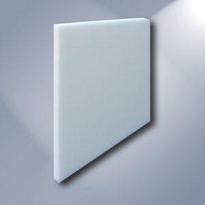 Pannello fonoassorbente bianco