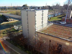 Visuale edificio schermatura fonoisolante