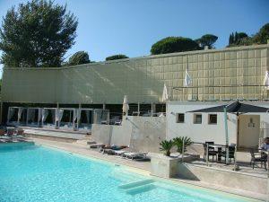 Schermatura area piscina