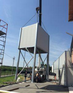 Silenziatore ventola torre evaporativa